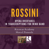 Album artwork for Rossini: Operatic Overtures in Transcriptions