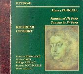 Album artwork for Purcell:  Sonatas in III Parts / In IV Parts
