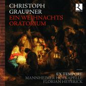 Album artwork for Christoph Graupner: Ein Weihnachts Oratorium