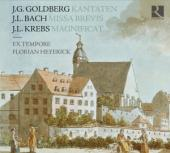 Album artwork for Goldberg, Krebs & J.L. Bach: Sunday in Leipzig