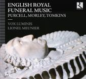 Album artwork for English Royal Funeral Music