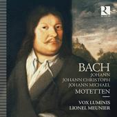 Album artwork for Motets of the Bach Family - Vox Luminis