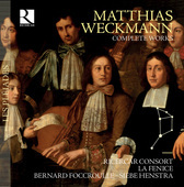 Album artwork for Weckmann: Complete Works