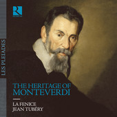 Album artwork for The Heritage of Monteverdi