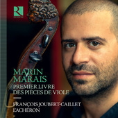 Album artwork for Marais: Pièces de viole, Book 1