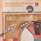 Album artwork for Hildegard von Bingen: Ego sum homo