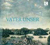 Album artwork for VATER UNSER - German Sacred Cantatas