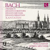 Album artwork for Bach Family Kantaten / Vox Luminis