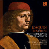 Album artwork for Josquin Desprez: Septiesme livre de chansons