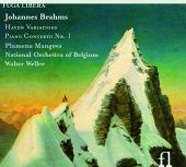 Album artwork for Brahms: Haydn Variations - Piano concerto Nr. 1