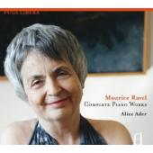 Album artwork for Ravel: Complete Piano Works / Ader