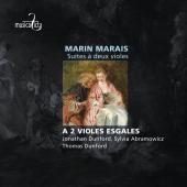 Album artwork for Marais: Suites à deux violes