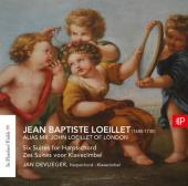 Album artwork for Loeillet: 6 SUITES FOR HARSPICHORD