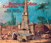 Album artwork for BAROQUE OBOE CONCERTOS