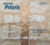 Album artwork for PRIORIS: REQUIEM, MISSA ALLEZ REGRETS