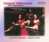 Album artwork for CANZONI VILLANESCHE ALLA NAPOLITANA