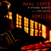 Album artwork for HOMILIA / Manu Comte