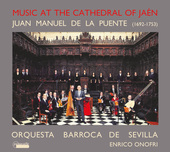 Album artwork for MUSIC AT THE CATHEDRAL OF JAEN