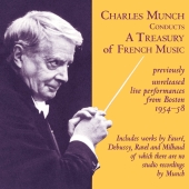 Album artwork for Charles Munch Conducts a Treasury of French Music