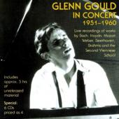 Album artwork for Glenn Gould in Concert (1951-1960)