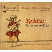 Album artwork for Rabelais: Fay ce que vouldra