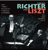 Album artwork for Richter Plays Liszt: Live From 1958-61