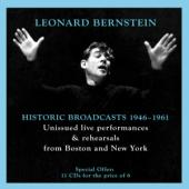 Album artwork for Leonard Bernstein: Historic Broadcasts, 1946-1961