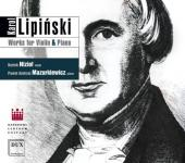 Album artwork for Lipinski: WORKS FOR VIOLIN & PIANO