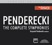 Album artwork for Penderecki: Symphonies / Penderecki