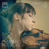 Album artwork for WORKS FOR VIOLIN SOLO