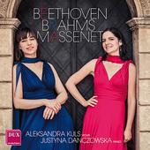 Album artwork for Violin Sonatas of Beethoven, Brahms, Massenet