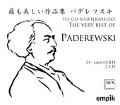 Album artwork for BEST OF PADEREWSKI