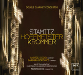 Album artwork for Stamitz, Hoffmeister & Krommer: Double Clarinet Co