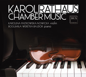 Album artwork for Rathaus: Chamber Music