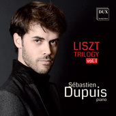 Album artwork for Liszt Trilogy, Vol. 1