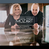 Album artwork for Mozart: All 6 Sonatas for Piano 4 Hands