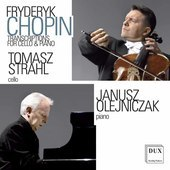 Album artwork for Chopin: Transcriptions for Cello and Piano