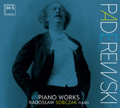 Album artwork for Paderewski: Piano Works