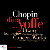 Album artwork for FRÉDÉRIC CHOPIN: CONCERT WORKS