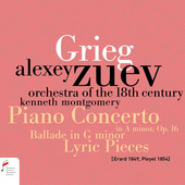 Album artwork for Grieg: PIANO CONCERTO, OP. 16
