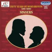 Album artwork for FIFTY YEARS OF HUNGAROTON - SINGERS