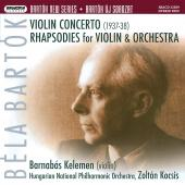 Album artwork for Bartok: Violin Concerto #2, Rhapsodies