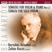 Album artwork for Bartok: Sonatas for Violin / Kelemen, Kocsis