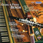 Album artwork for Georg & Franz Benda : Flute Sonatas