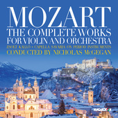 Album artwork for Mozart: The Complete Works for Violin & Orchestra
