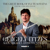 Album artwork for The Great Book of Flute Sonatas, Vol. 1
