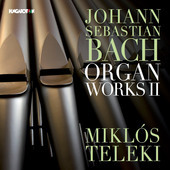 Album artwork for Bach: Organ Works, Vol. 2