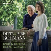 Album artwork for Ditta & Imre Rohmann Play Bartók, Debussy, De Fal