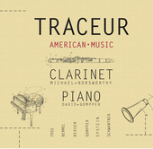 Album artwork for Traceur: American Music for Clarinet & Piano