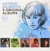 Album artwork for Astrud Gilberto - 5 ORIGINAL ALBUMS (5CD)